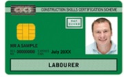 Labourers Card (CSCS Green)